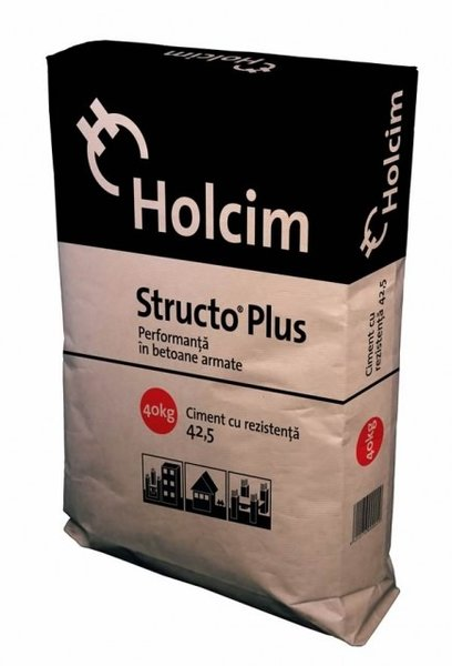 Ciment Structo Plus 40 kg